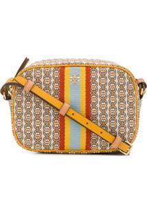 Tory Burch Gemini Link Logo Crossbody Bag - Neutro