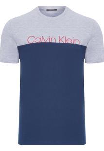 Camiseta Masculina De Algodão - Azul