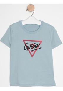 """Blusa """"Guess®""""- Azul Claro & Vermelha- Guessguess"""