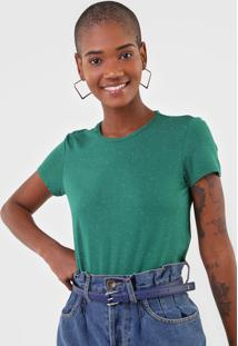 Blusa Malwee Boton㪠Verde - Verde - Feminino - Viscose - Dafiti