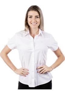 Camisa Pimenta Rosada Angélica Top - Feminino-Branco