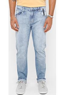 Calça Jeans Skinny Ellus 2Nd Floor Blue Elastic Marmorizada Masculina - Masculino