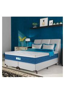 Colchão Queen Probel Blue, Branco E Azul, Pa34329