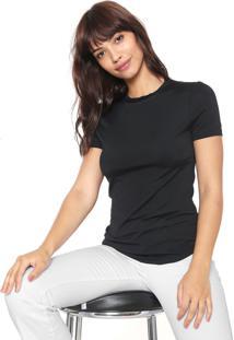 Camiseta Forum Lisa Preta