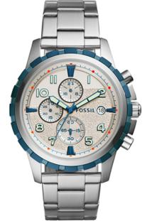 ae71f0b7053 ... Relógio Fossil Masculino Dean - Fs5319 1Bn Fs5319 1Bn - Masculino-Prata