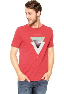 Camiseta Vr Estampada Vermelha