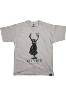 Camiseta Future Glória Aos Imortais Off White