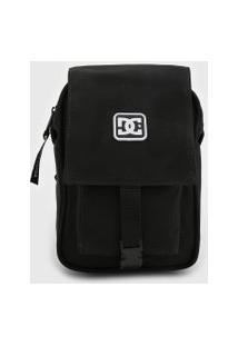 Bolsa Dc Shoes Shoulder Bag Explorer Sat Preta
