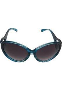 Óculos De Sol Khatto Woman Juliana Feminino - Feminino-Azul