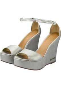 Sandália Barth Shoes Lazuli Feminina - Feminino-Prata