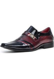 Sapato Social Pro Mais 0751A Co Pretovinho