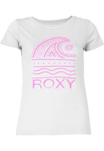 Camiseta Roxy Waves Only Cinza - Kanui