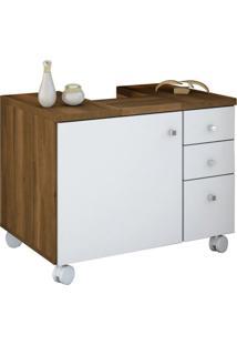Gabinete Para Banheiro Sindy 1 Pt 3 Gv Cedro E Branco