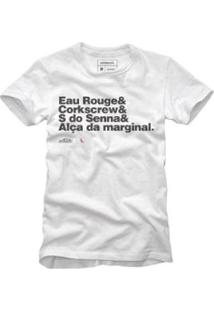 Camiseta Reserva Curvas Perigosas Masculina - Masculino