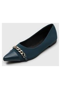 Sapatilha Dafiti Shoes Corrente Azul-Marinho