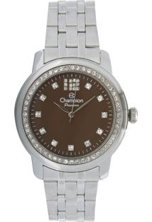 Relógio Champion Analógico Feminino - Cn29954O Prateado