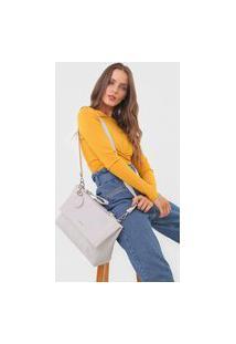 Bolsa Desigual Shoulder Bag Alegria Off-White