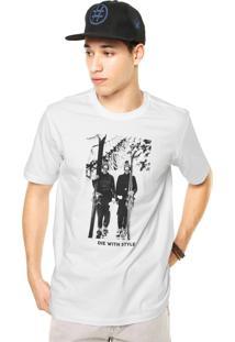 Camiseta West Coast Die With Style Branca