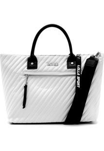Bolsa Santa Lolla Matelassê Branca
