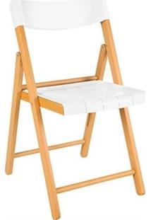Cadeira Potenza Natural Com Branco 13791080 Tramontina