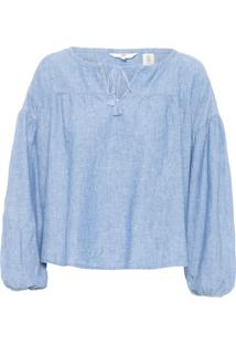 Blusa Feminina Millie - Azul