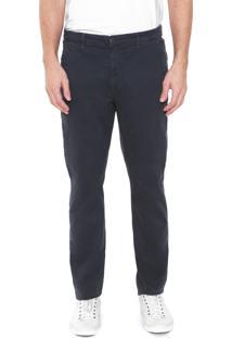 Calça Jeans Richards Chino Lisa Azul-Marinho