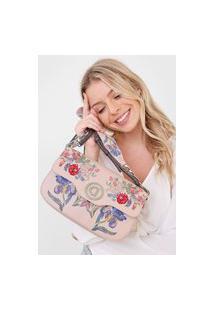 Bolsa Desigual Across Body Bag Rosa