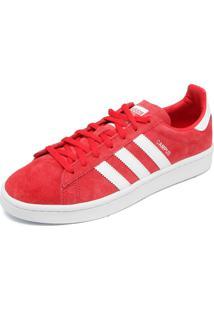 ad5d35c7f26 ... Tênis Couro Adidas Originals Campus W Vermelho