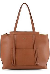 Bolsa Shopping Bag Bolso Tan - Tan/Un