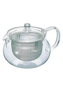 Bule Para Chá Em Vidro E Aço Inox Hario Com Capacidade De 0,7L - Hr-Chjmn-70T