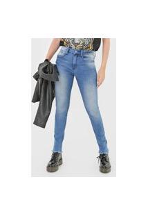 Calça Jeans John John Skinny Clavos Azul