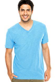 Camiseta Redley Mescla Azul