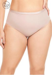 Cinta Modeladora Plus Size Mondress Bege - Tricae