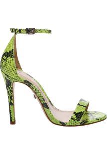 Sandália Gisele Snake Neon | Schutz