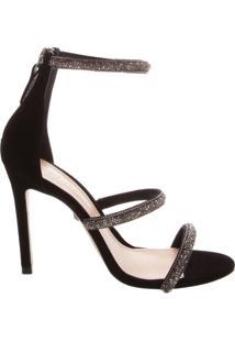 Sandália Salto Fancy Straps Black | Schutz