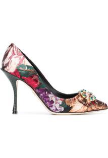 Dolce & Gabbana Scarpin 'Lori' - Preto