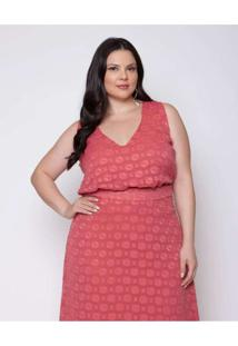 Body Almaria Plus Size Pianeta Chiffon Devorê Com