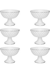 Conjunto 6 Taças Sobremesa Oxford 83713 Katherine 240Ml