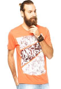Camiseta Sommer Reta Laranja