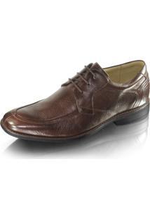 Sapato Social Probs7 Cadarço Marrom