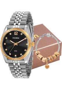Relógio Mondaine Feminino Com Pulseira 99175Lpmvbs4K1