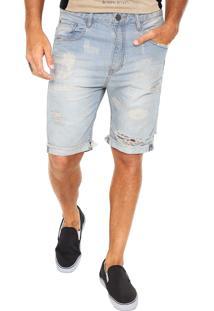 Bermuda Jeans John John Reta Rock Osan Azul