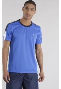 Camiseta Ace Basic Dry Azul Royal
