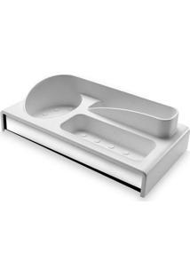 Organizador Para Pia Multiuso Branco 2113/103 - Brinox - Brinox