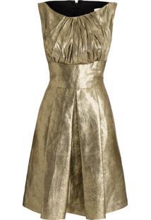 Vestido Fuyumi - Dourado