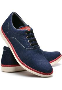Sapatenis Top Franca Shoes Masculino - Masculino-Azul