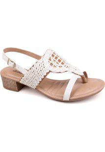 Sandália Dakota Z1092 - Feminino-Branco