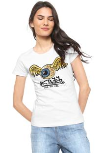 Camiseta Von Dutch Usa So Cal Branca
