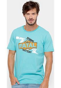Camiseta Fatal Battery Masculina - Masculino