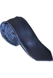 Gravata Horus Azul Slim 4024